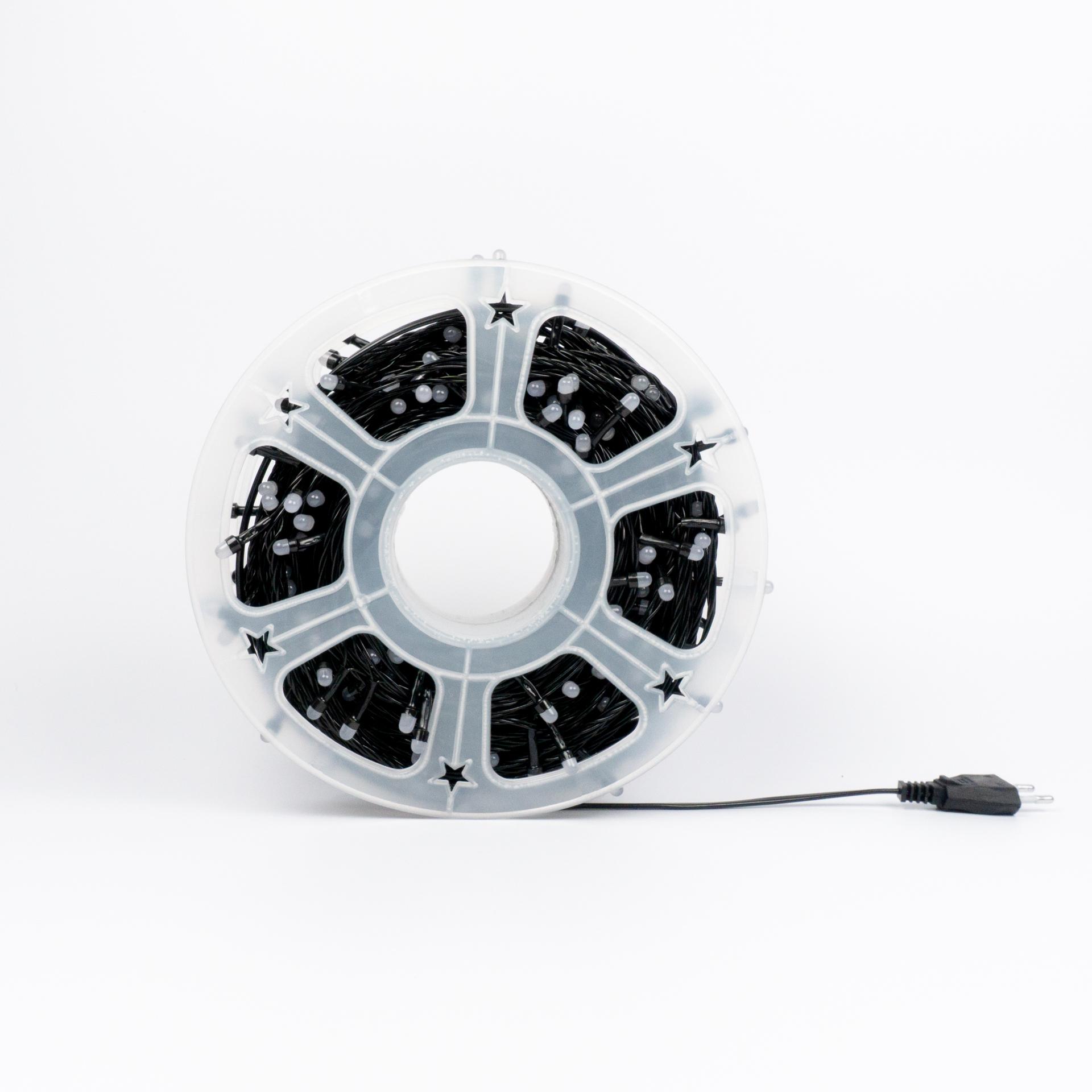 LED Fényfüzér Színes RGB Kültéri 50 Méter CL-50RGB
