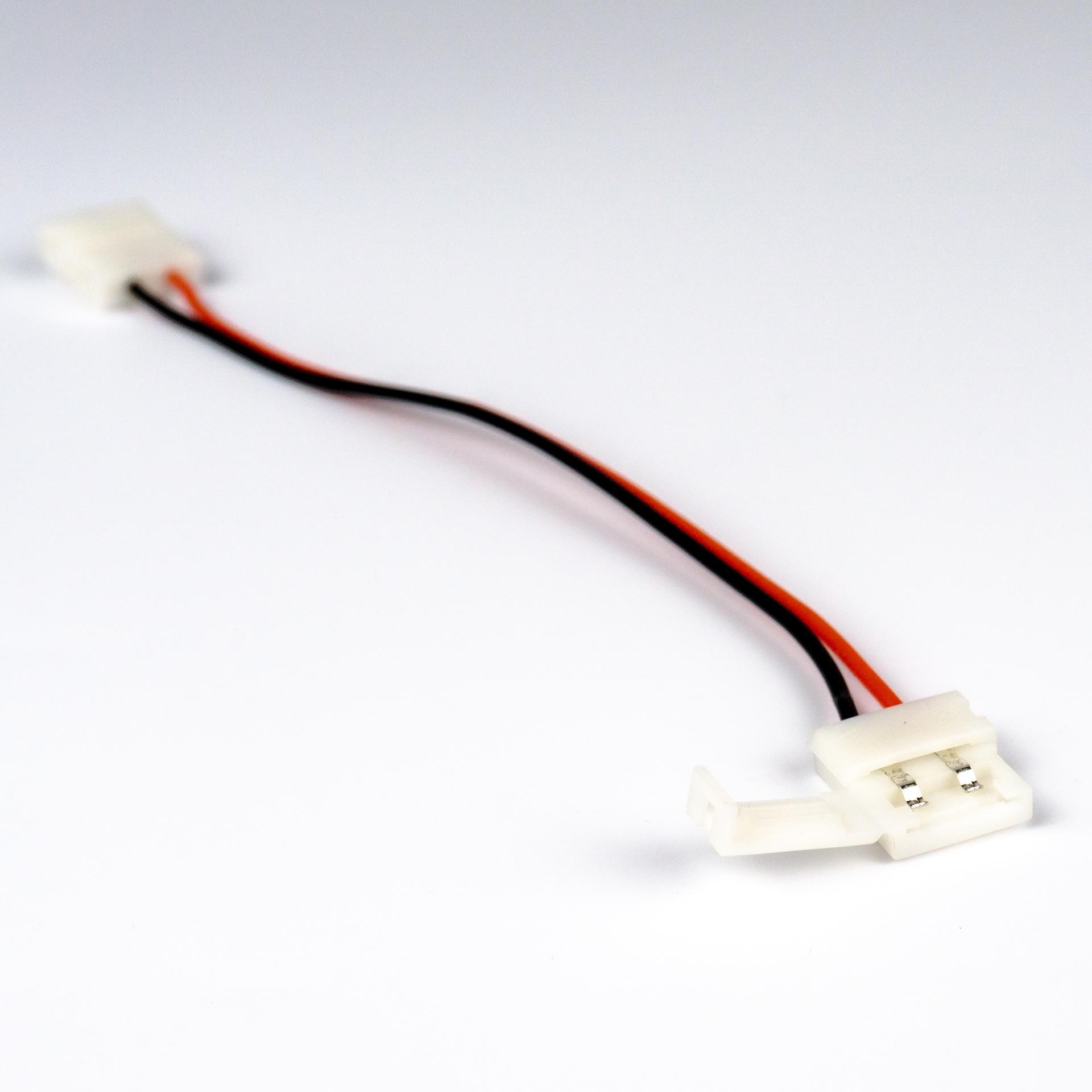 Gyorscsatlakozó Toldó FEHÉR 5050 LED Szalaghoz LCO-50WGH