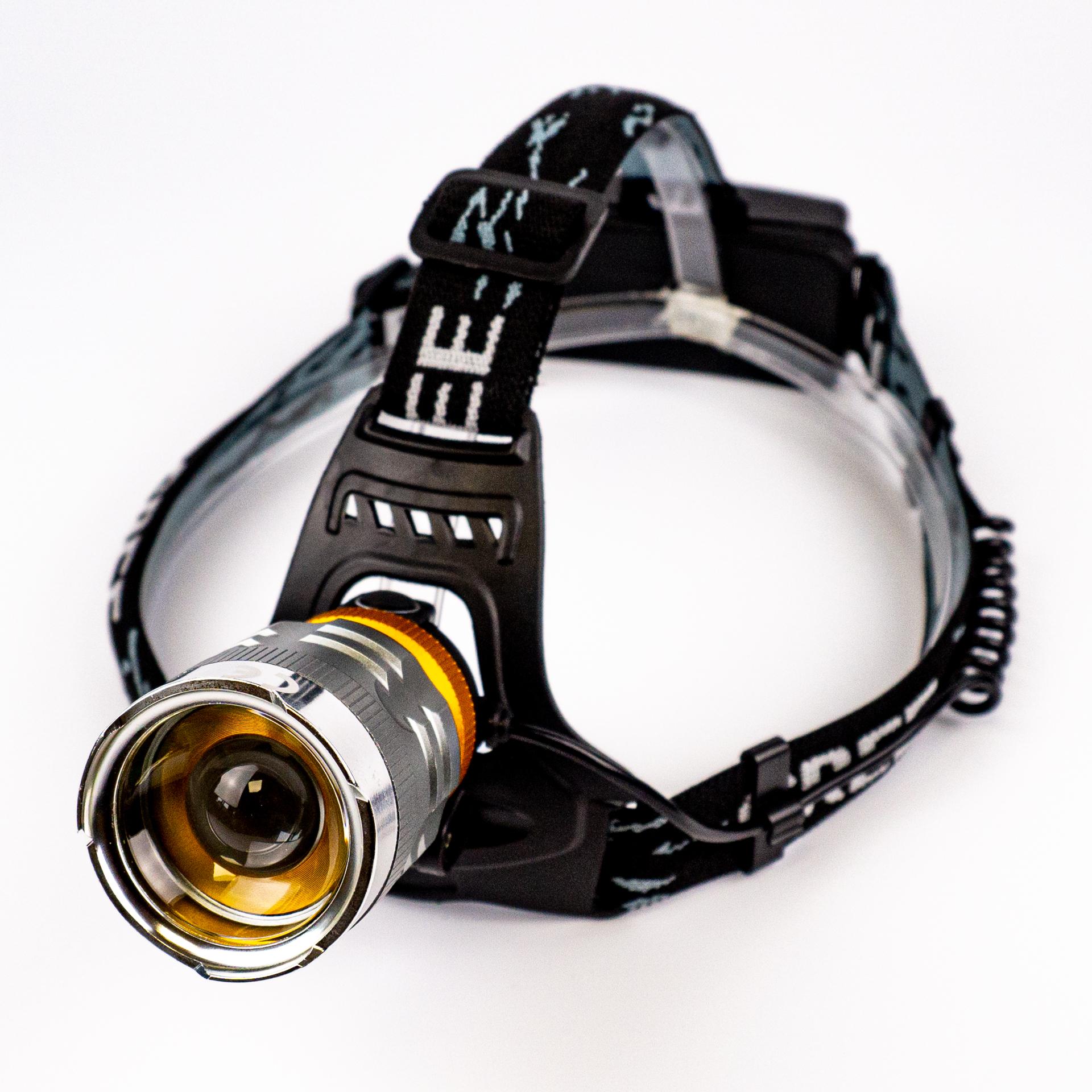 LED Fejlámpa Fókuszálható Cree T615 18650 LHL-T615