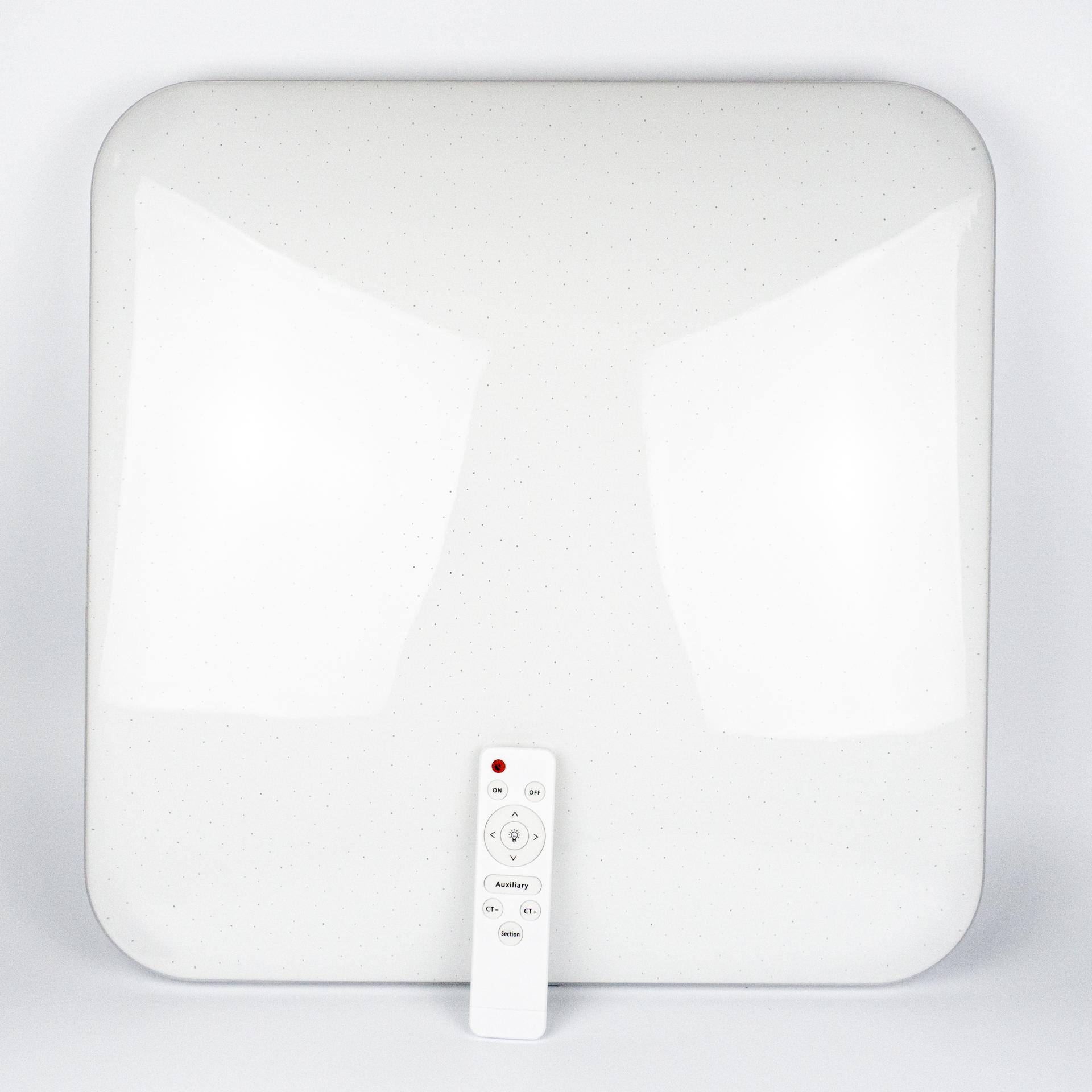 Távirányítós Mennyezeti Lámpa 50W CCT 49x49cm Négyzet LL-CCT49