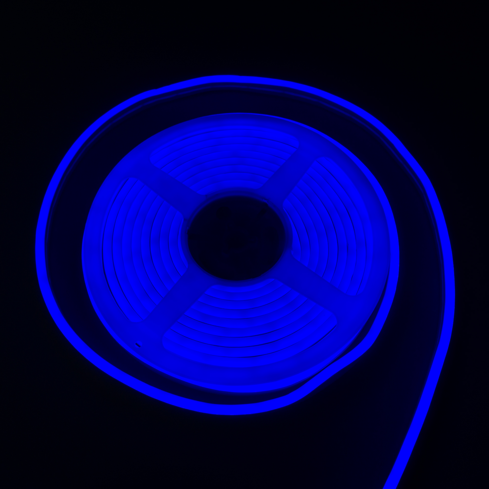 LED Neon Flex IP65 12V Kék Flexibilis Neon Csík Dimmelhető LN-512B