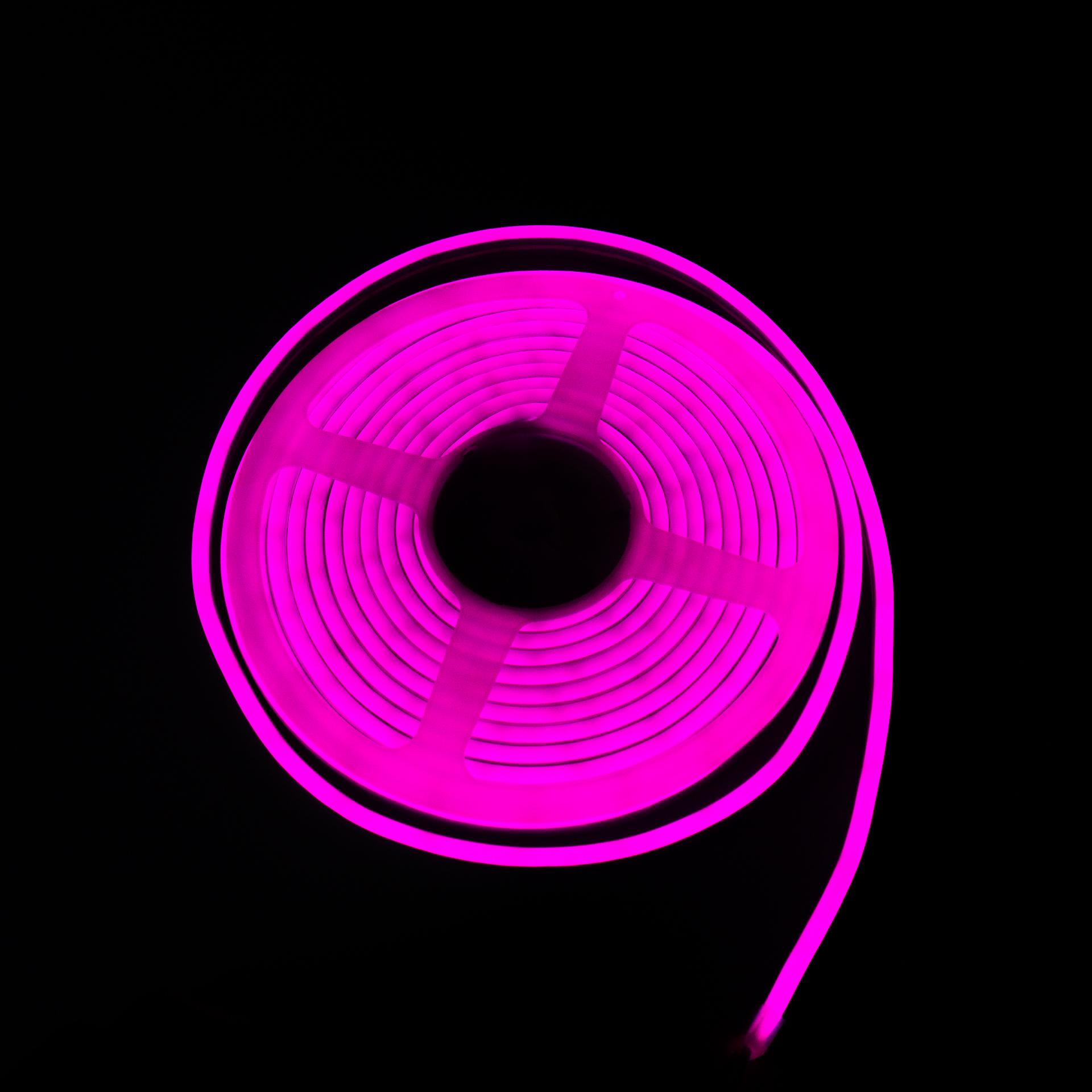 LED Neon Flex IP65 12V Lila Flexibilis Neon Csík Dimmelhető LN-512P