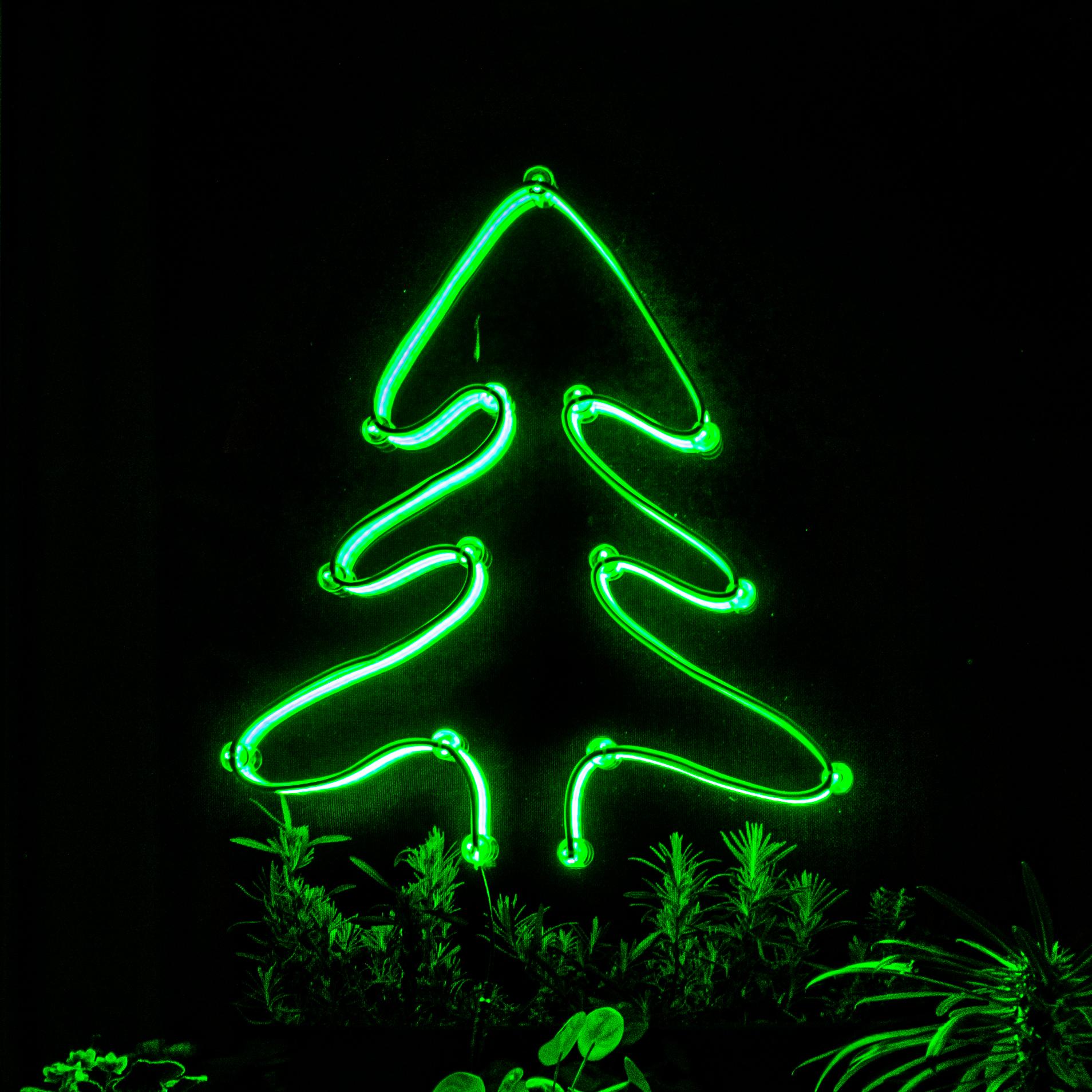 Xmas DIY LED Neon Karácsonyfa Ablakra Több Színben LN-XT