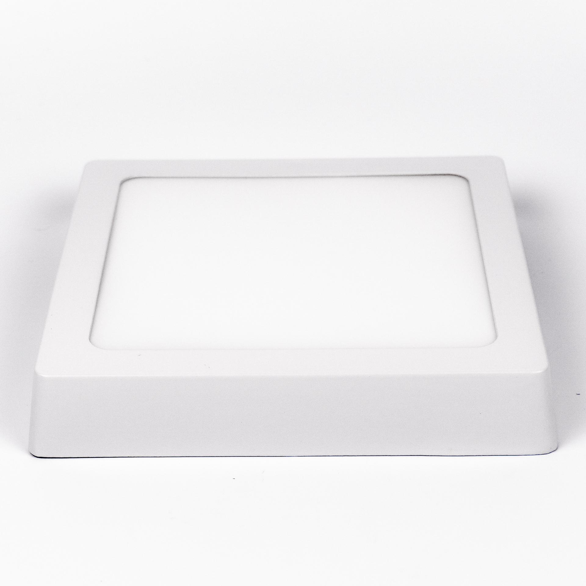 LED Panel Falon Kívüli 12W Négyzet Meleg Fehér LPA-FK12N