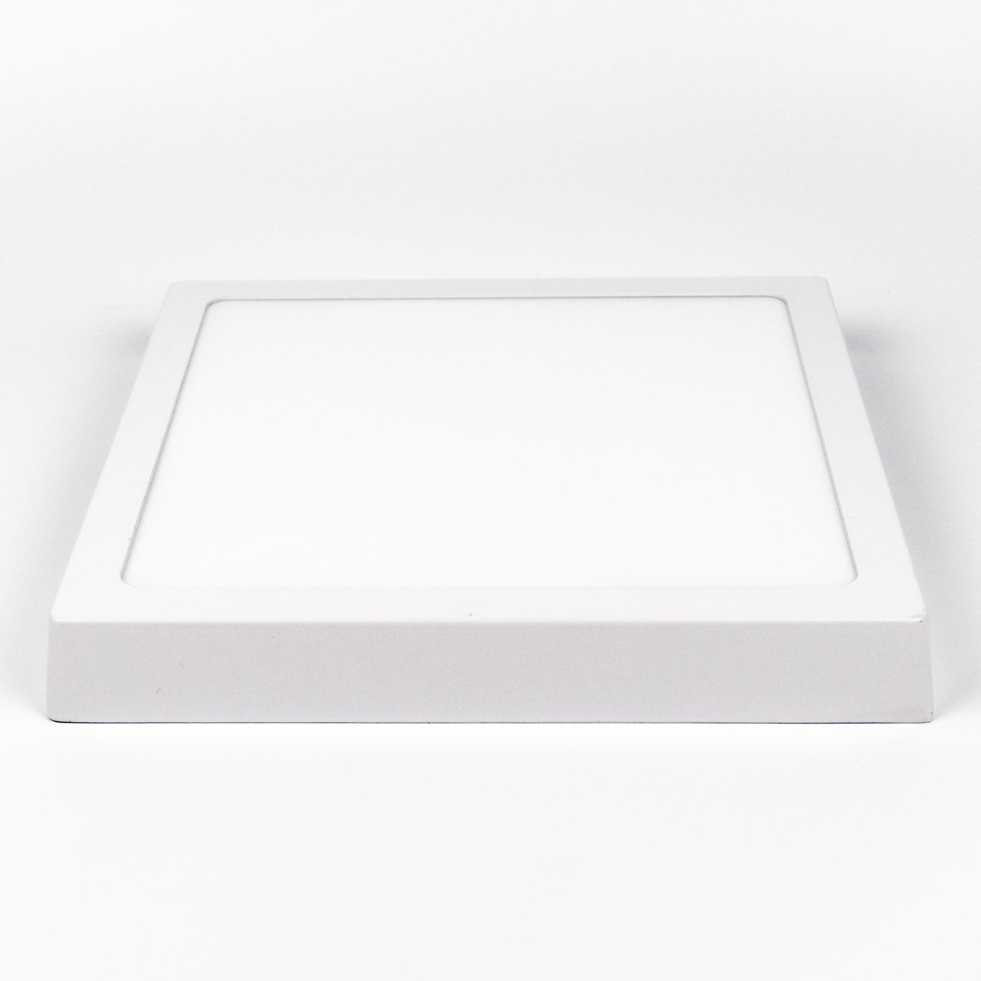 LED Panel Falon Kívüli 18W Négyzet Meleg Fehér LPA-FK18N