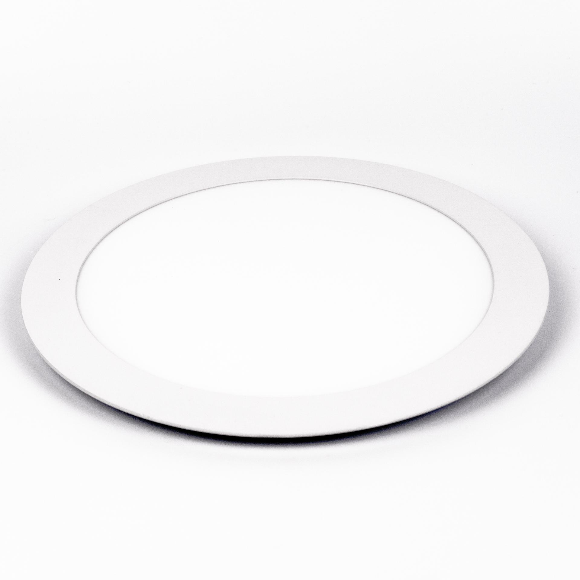LED Panel Süllyeszthető 18W Kör Meleg Fehér LPA-V18K