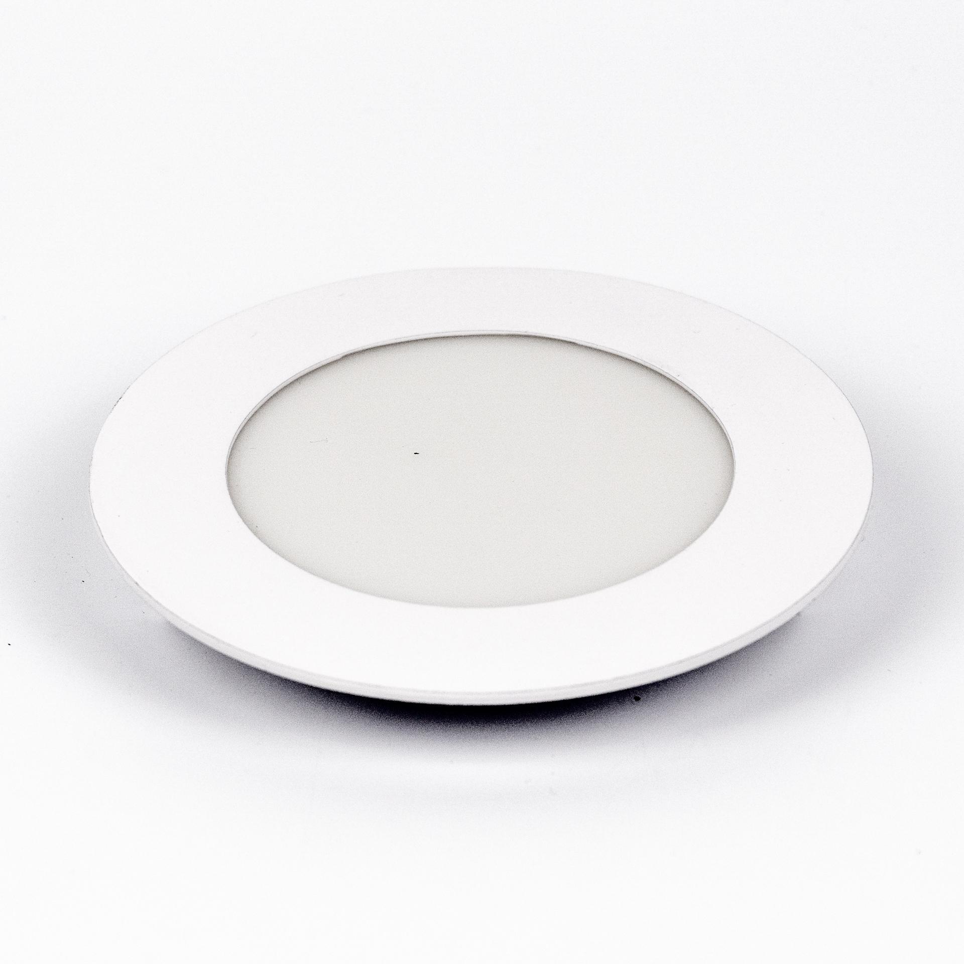 LED Panel Süllyeszthető 6W Kör Meleg Fehér LPA-V6K