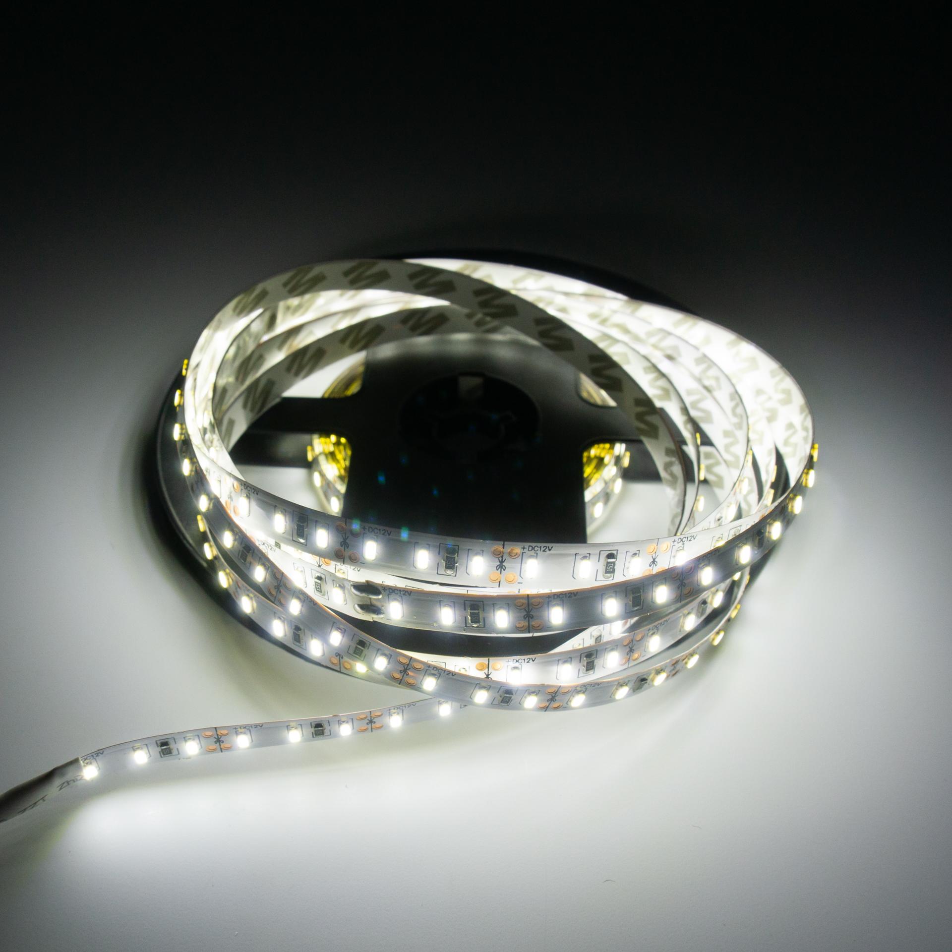 LED Szalag Beltéri 3014 120 LED/M 12V Hideg Fehér LS-53014120W