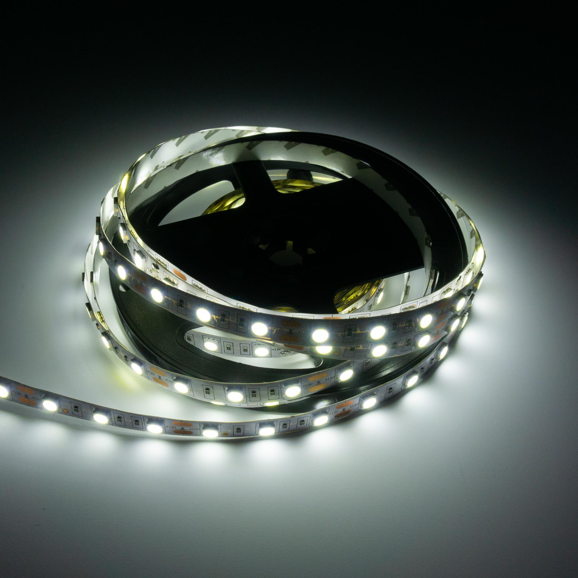 LED Szalag Beltéri 5050 60 LED/M 12V Hideg Fehér LS-5W20W