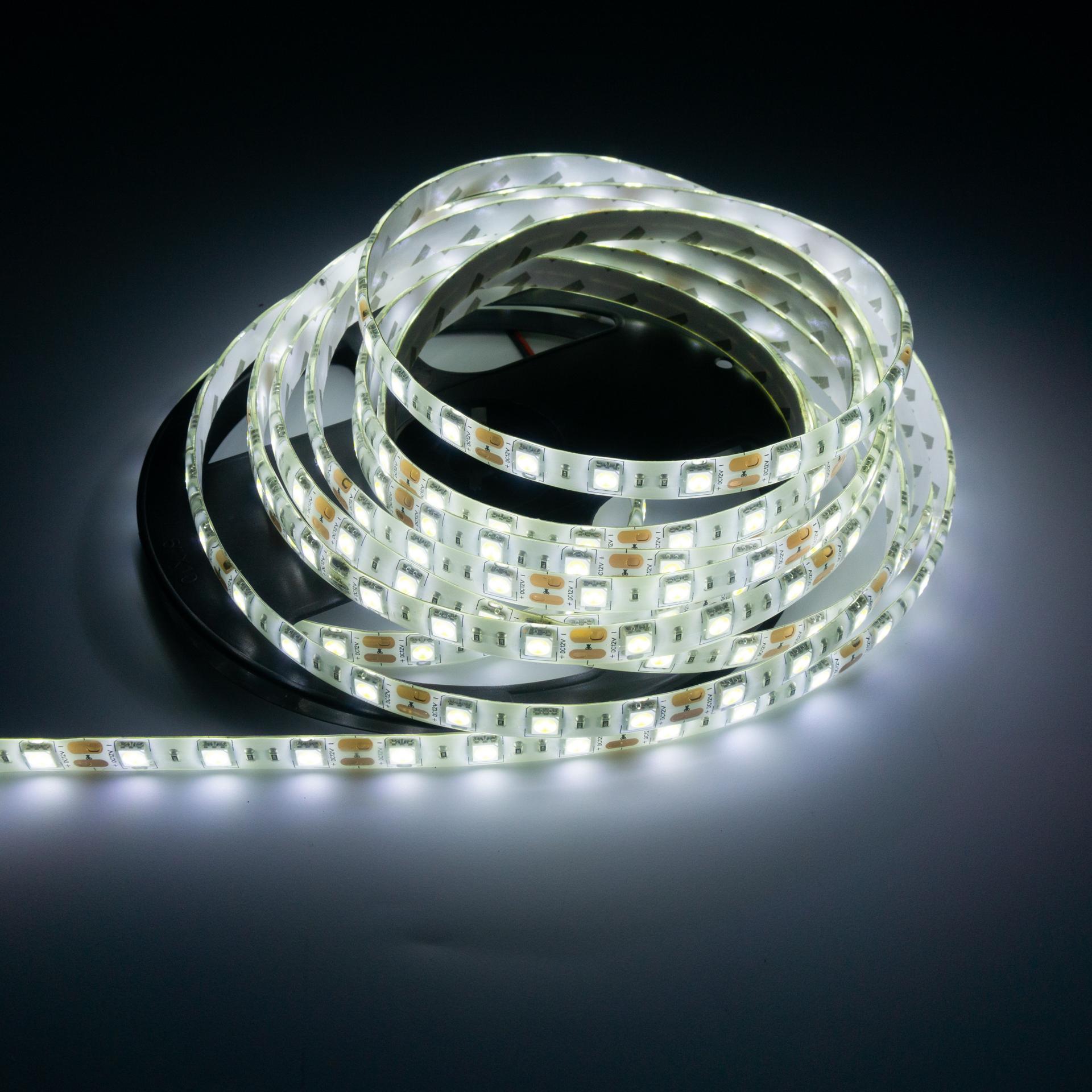 LED Szalag Kültéri 5050 60 LED/M 12V Hideg Fehér LS-5W65W