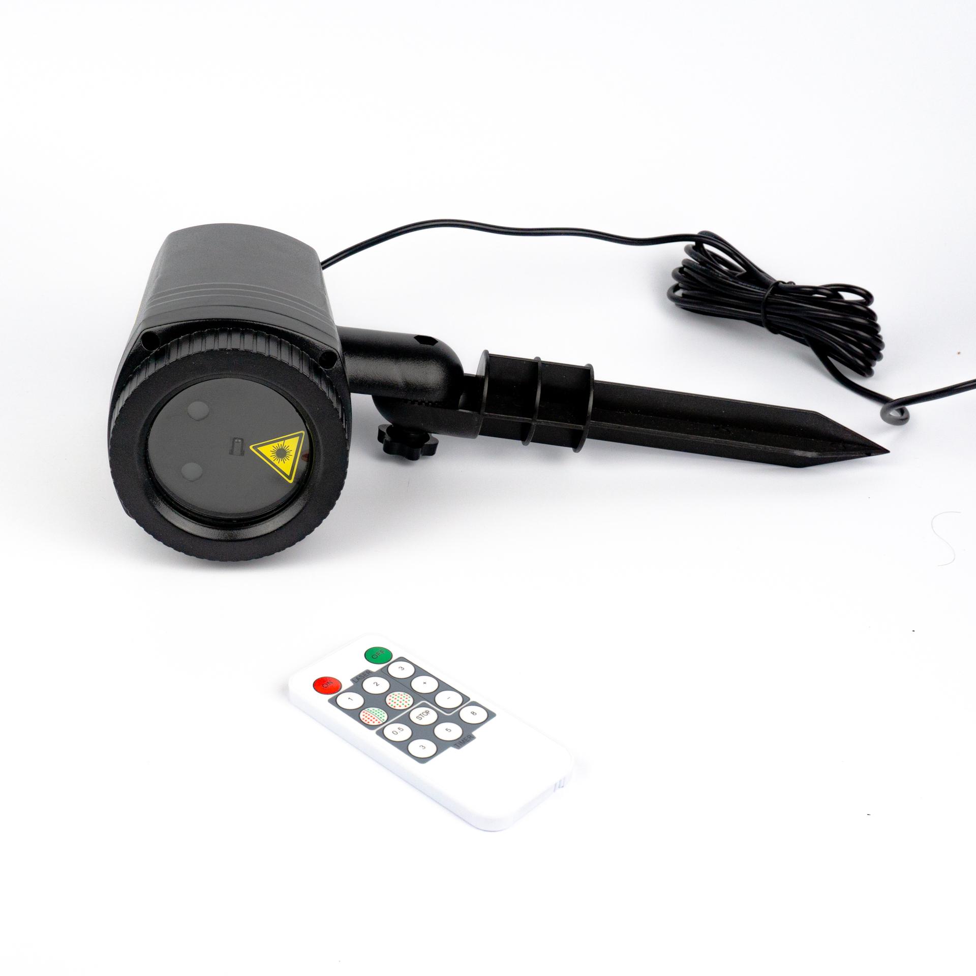 LED Lézer Projektor Távirányítóval Kültéri PA-LIP44